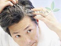 Tóc đen tuyền với sản phẩm trị bạc tóc BoniHair